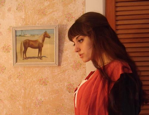 portrait of an arabian