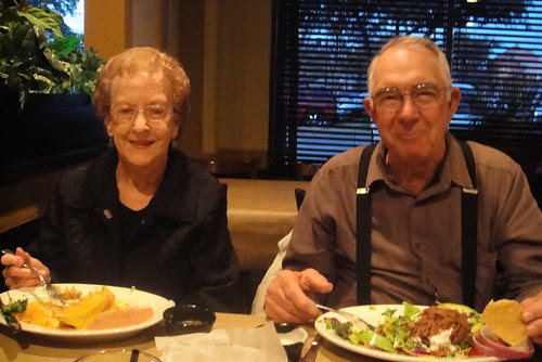 hanging out with the Grandparents!!