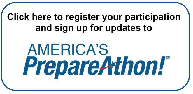 Invitation to Participate in America's PrepareAthon!