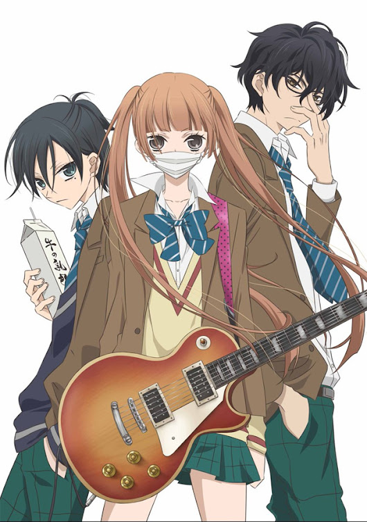 Anime TV-Serie Anonymous Noise ab August bei nipponart auf DVD sowie Blu-ray