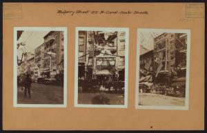 Manhattan: Mulberry Street - C... Digital ID: 721803F. New York Public Library