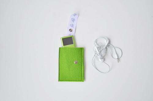 felt iPod case