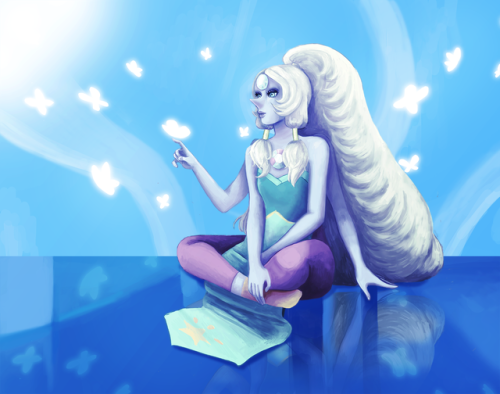 here comes a thought but opal!