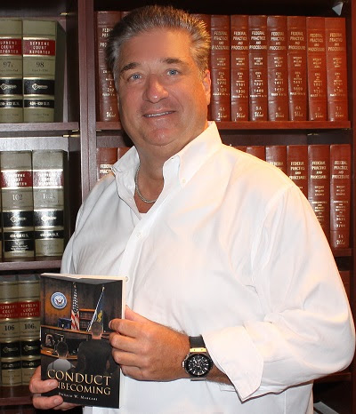 Prominent Virginia Personal Injury Lawyer Pens Military Court Thriller