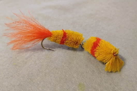 Deer Hair Jointed Swimbait Fly