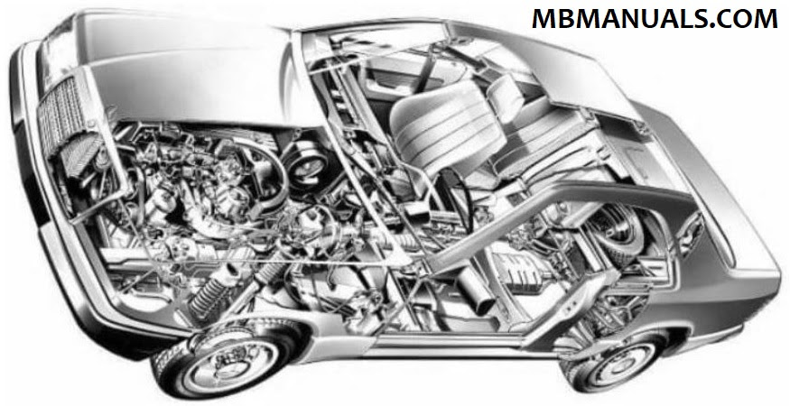 Mercedes Benz 124 W124 Service Repair Manuals