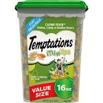Temptations Mixups Catnip Fever Cat Treats - 16 oz tub