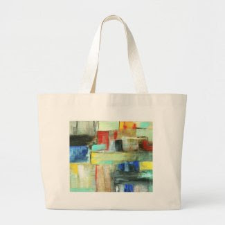 Metropolis Tote Market Bag From Original Painting bag