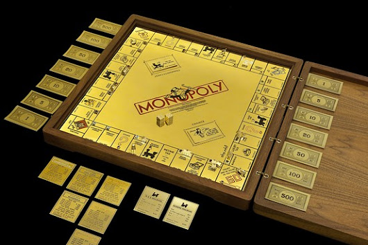 A Monopoly Board That's Too Rich for Boardwalk