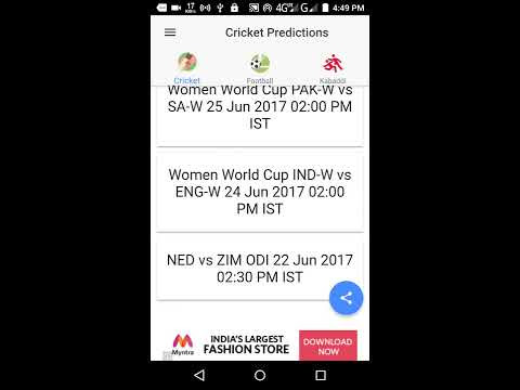 All dream 11 predictions app on Google Play - Free Download