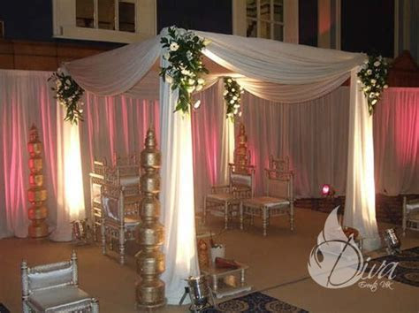 Floral Drape Mandaps Hire   Indian Wedding Packages