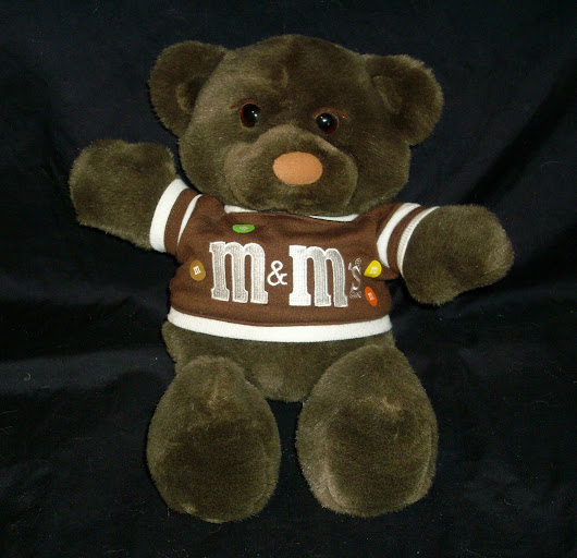 M & m 's Vtg. 1987  Teddy Bear Mint w/ tags Collectible - Other