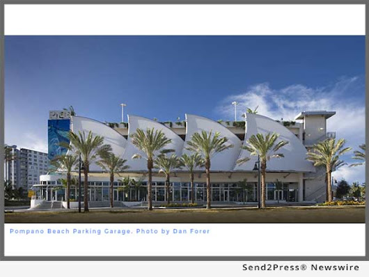 Pompano Beach Parking Garage Designed by Currie Sowards Aguila Celebrates First Anniversary | Send2Press Newswire