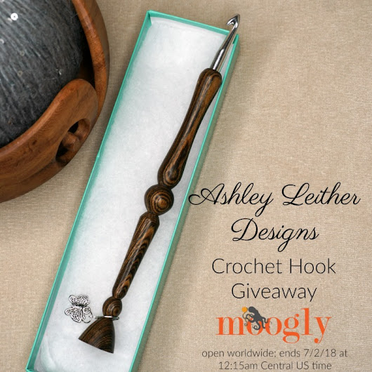 Ashley Leither Designs Crochet Hook Giveaway on Moogly!