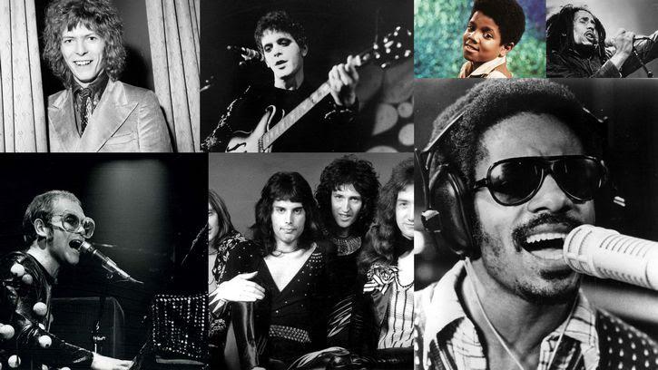 musicos de los 70s