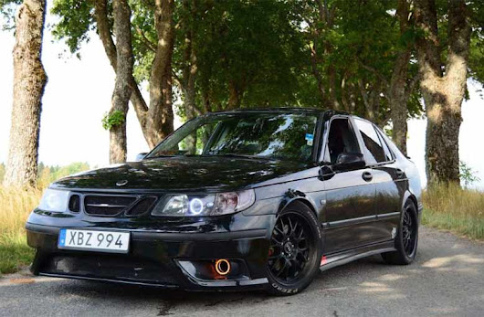 "Saab 9-5 ""Line.R"" Project Car is ready for the track!"