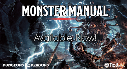 Roll20 Edition of the D&D Monster Manual Released, New Update, & Orr Report Available Now!