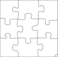 12 Piece Puzzle - ClipArt Best