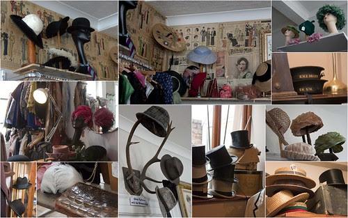 Vintage hats in Ludlow