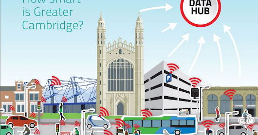 Driverless vehicles and travel apps as Cambridge becomes 'smart city'