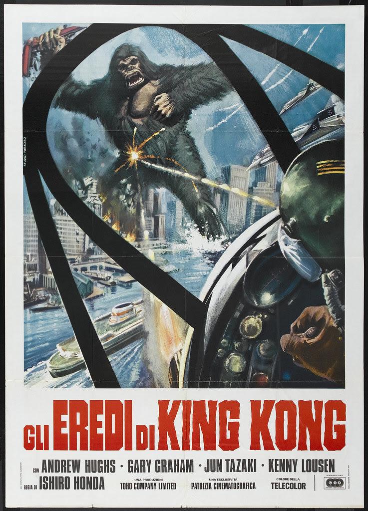 King Kong Escapes (Toho, 1967) Italian