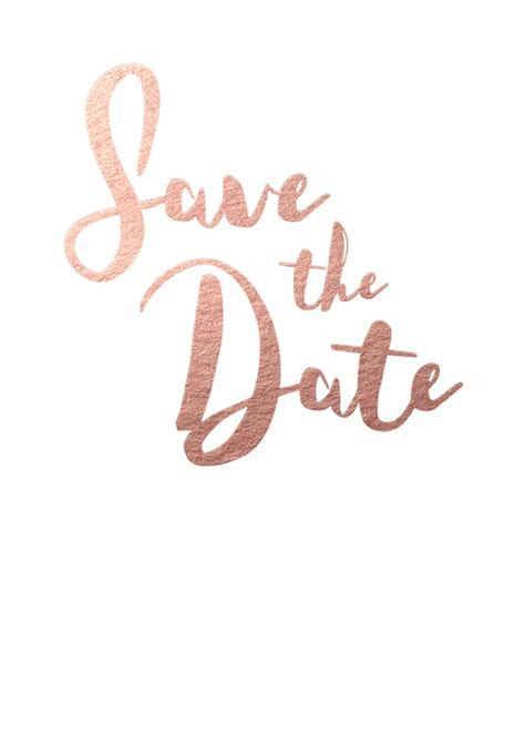 Save the Date Cards and Magnets   Rockwell   The Foil