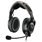 Bose A20 Aviation Over-Ear Headset - Noise-Canceling