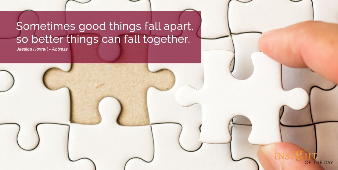 Good Things Fall Apart Together Jessica Howell