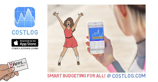 CostLog: Join the budgeting revolution!