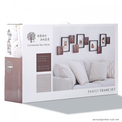 Millwood Pines 10 Piece Zeitler Luxury Family Pvc Picture Frame Set