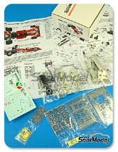 Kit 1/43 This Way Up - Surtees TS9B Ceramica Pagnossin - Nº 26 - De Adamich - Gran Premio de España 1972 - maqueta de metal