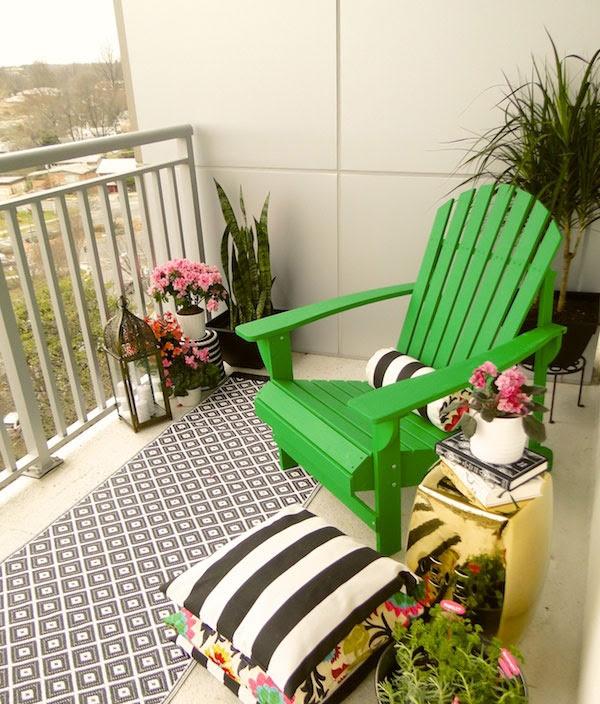 Decorate Apartment Balcony Ideas