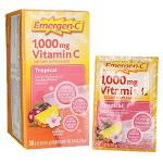 Alacer Emergen-C Vitamin C - Tropical | 30 Packets - Essential Antioxidant