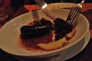 Canela Bistro Bar - Seared morcilla sausage