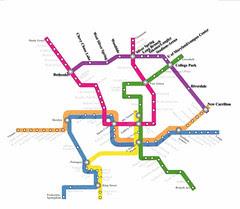 Purple Line Metro Map