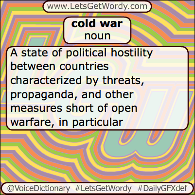 Cold War 06/12/2013 GFX Definition of the Day