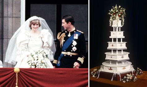 Princess Diana and Prince Charles?s wedding cake FOR SALE