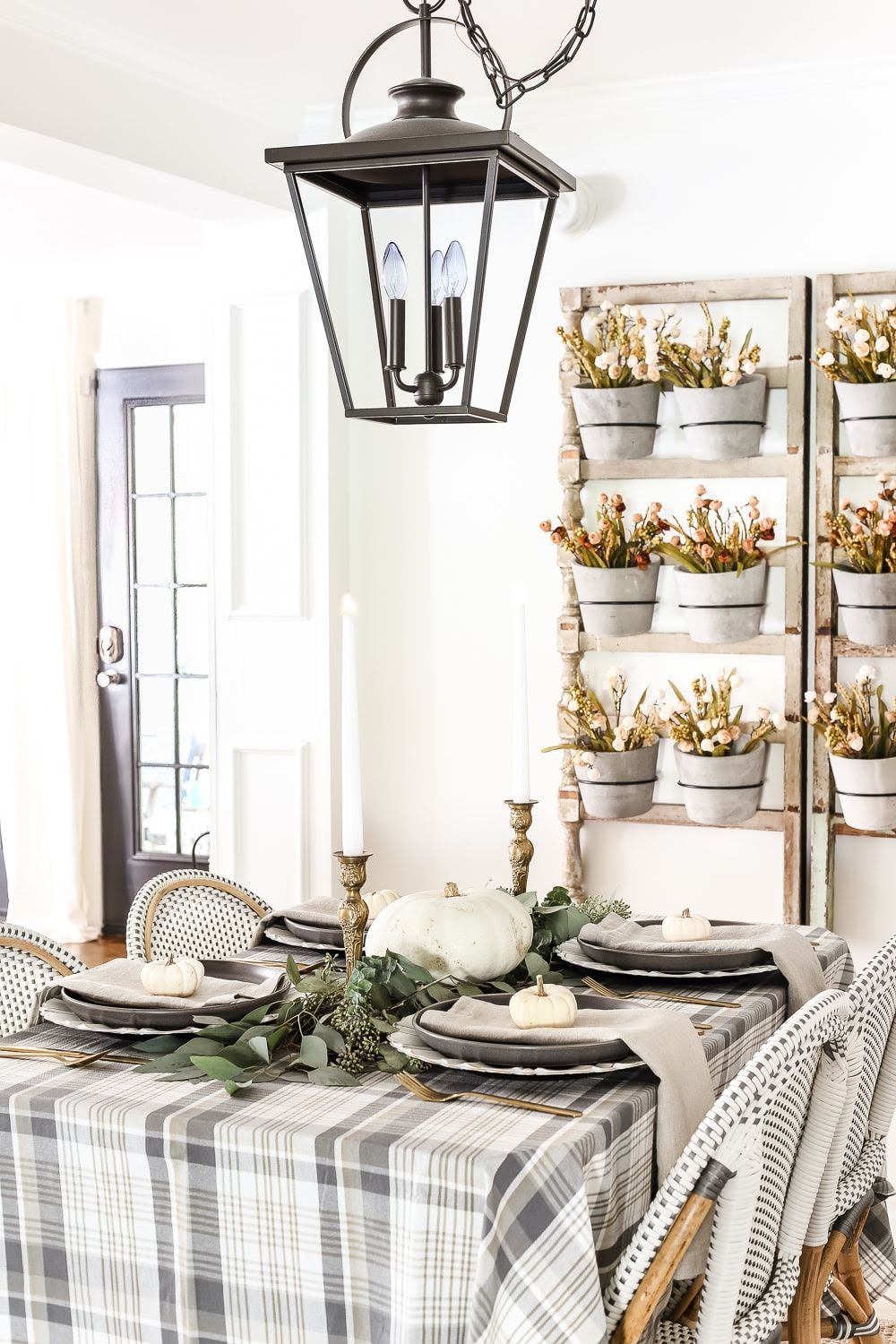 Thanksgiving Tablescape - Blesser House