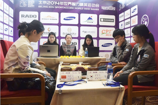 Pair GO results of 4th World Mind Games 2014 (16th-17th Dec, Beijing)