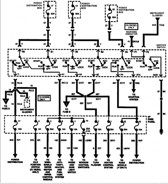 ignition wire diagram 1996 f150 - Ford F150 Forum ...
