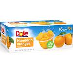 Dole Mandarin Oranges Fruit Cup, 16-4 Ounce Cups