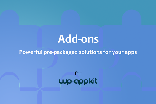 First WP-AppKit Add-ons Are Available
