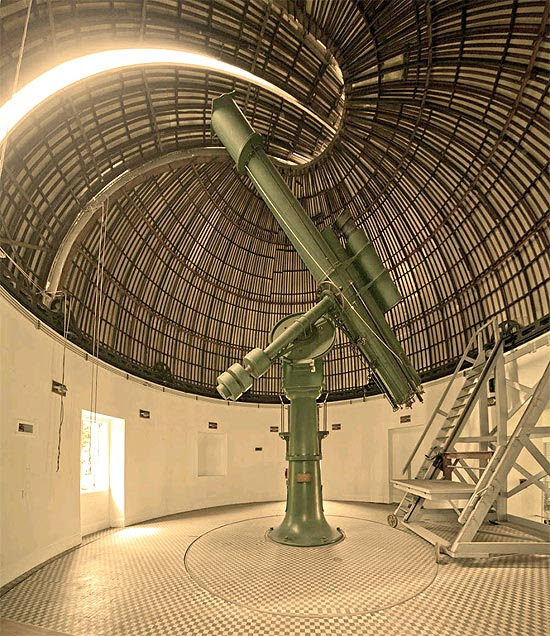 Luneta do Observatório Nacional, que completa 185 anos
