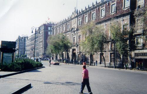 Zócalo District Mexico City