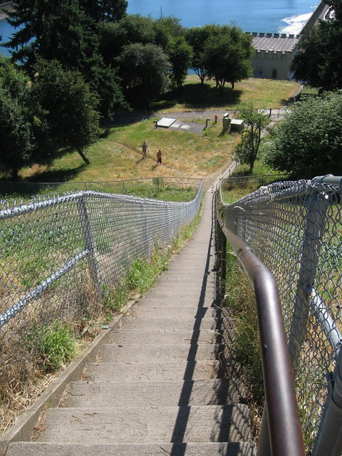 staircase, mt. tabor