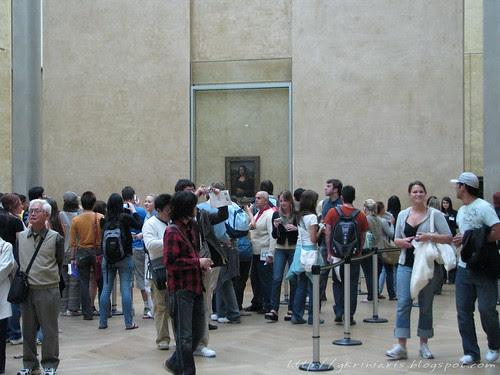 Mona Lisa room