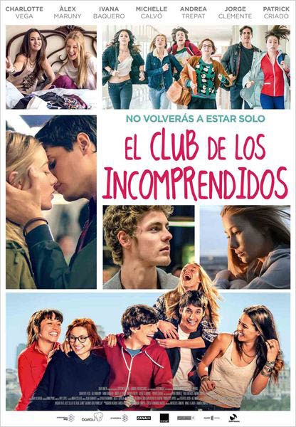 Cartel El club de los incomprendidos 4