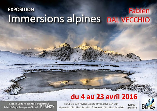 Exposition Dal Vecchio « Immersions alpines » à Blanzy (Photo)