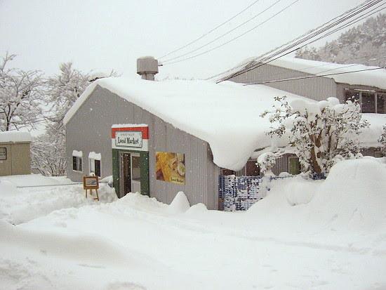 厚厚的積雪