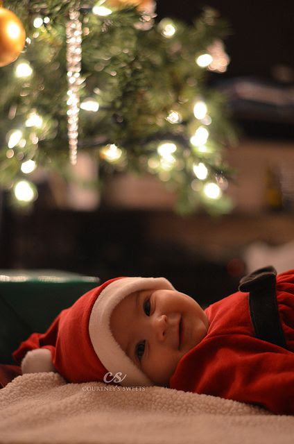 Sweet Baby's First Christmas *photo shoot* by Courtneys Sweets, via Flickr